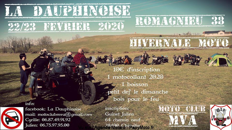 MANIFESTATION - Hivernale Moto - 22 & 23 Fèvrier 2020 - Romagnieu (38) La-dau11