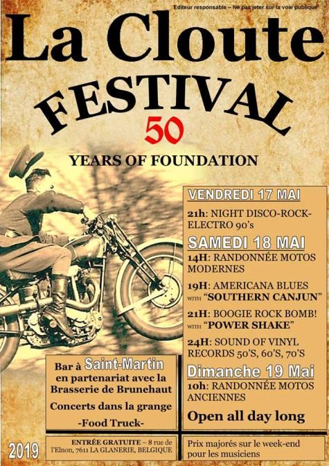 MANIFESTATION - Festival - 17 - 18 - & 19 Mai 2019 - L Glanerie - (7611) Belgique - La Cloute  La-gla10