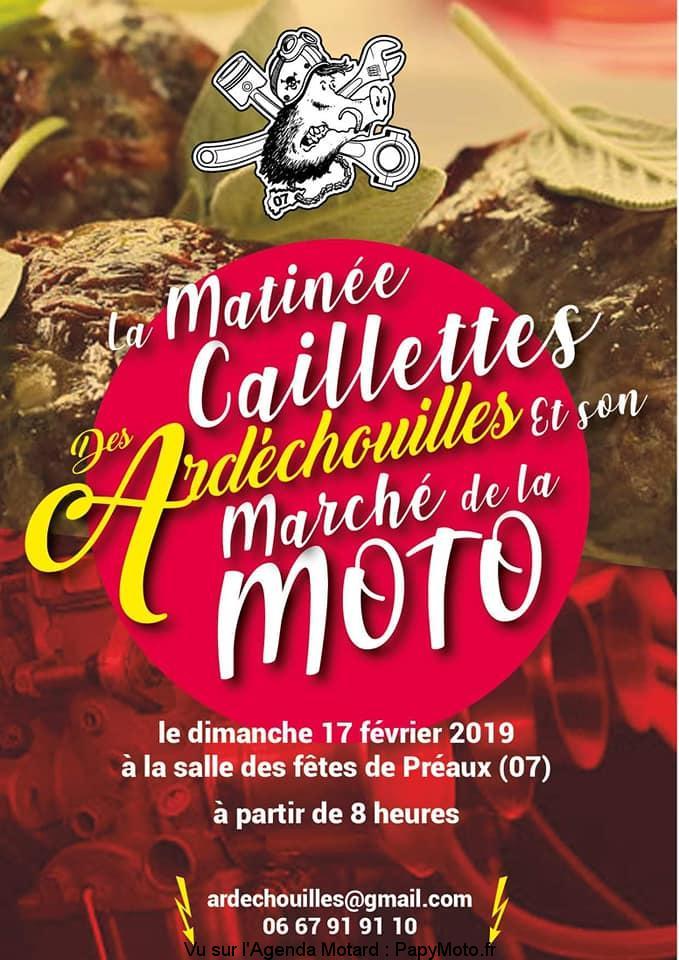 Marché de la Moto - dimanche 17 février 2019 - Préaux (07) La-mat10
