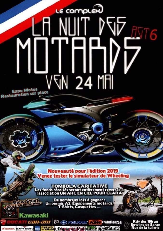 MANIFESTATION - La Nuit Des Motards - Vendredi 24 Mai 2019 - Saran (45) La-nui10