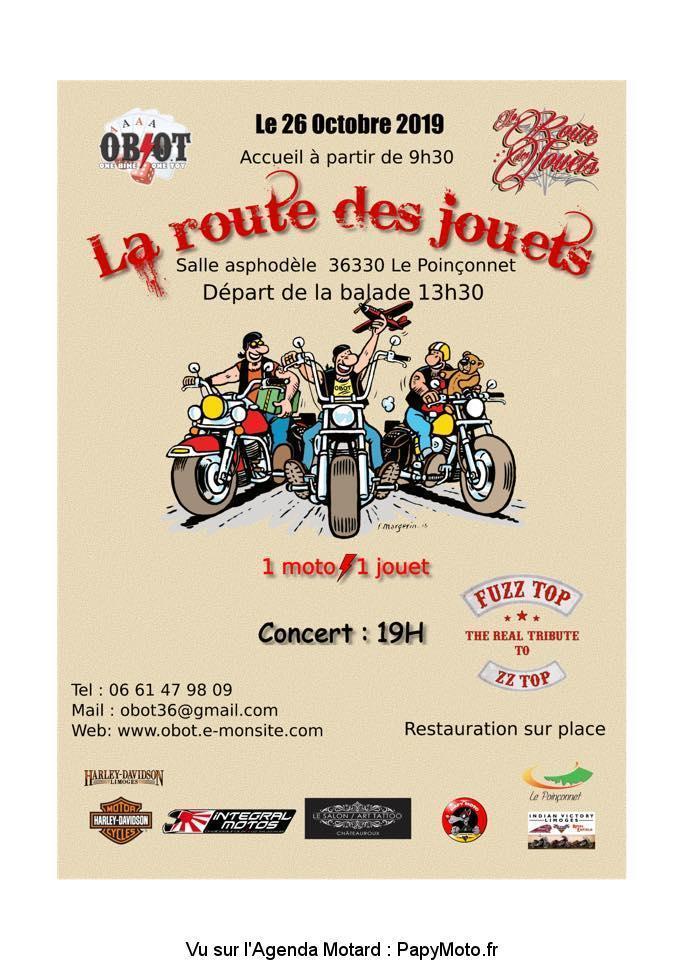 MANIFESTATION - Balade - 26 Octobre 2019 - Le Poinçonnet (36330) La-rou10