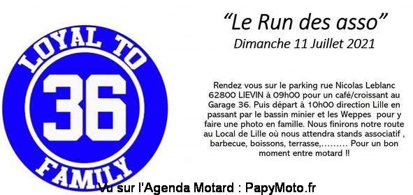 Manifestation - Le Run des Asso dimanche 11 Juillet 2021 Lievin (62800) Le-run10