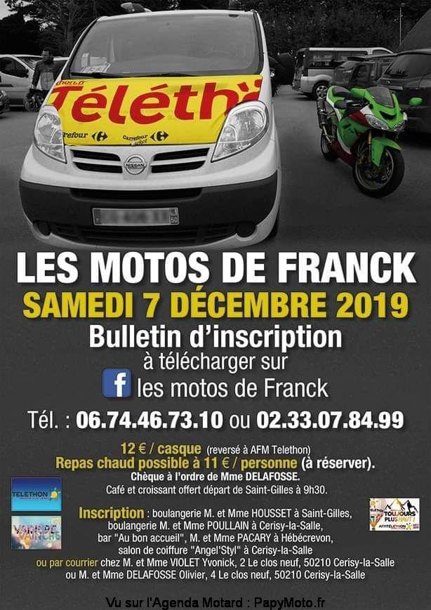 MANIFESTATION - Les Motos de Franck - Samedi 7 Décembre 2019 - Saint -Gilles  Les-mo13