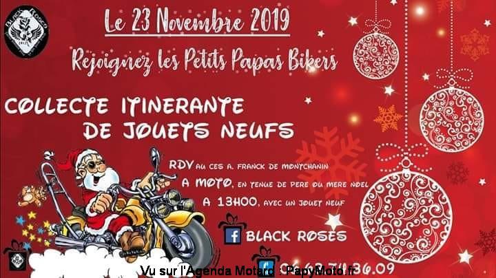 MANIFESTATION -  les Petits Papas Bikers - 23 Novembre 2019 - Montchanin (71) Les-pe11