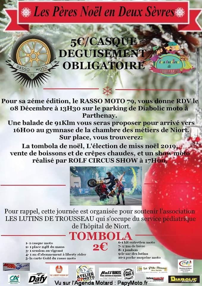 MANIFESTATION - Balade - 8 Décembre 2019 - Parthenay ( Deux Sèvres )  Les-pz13