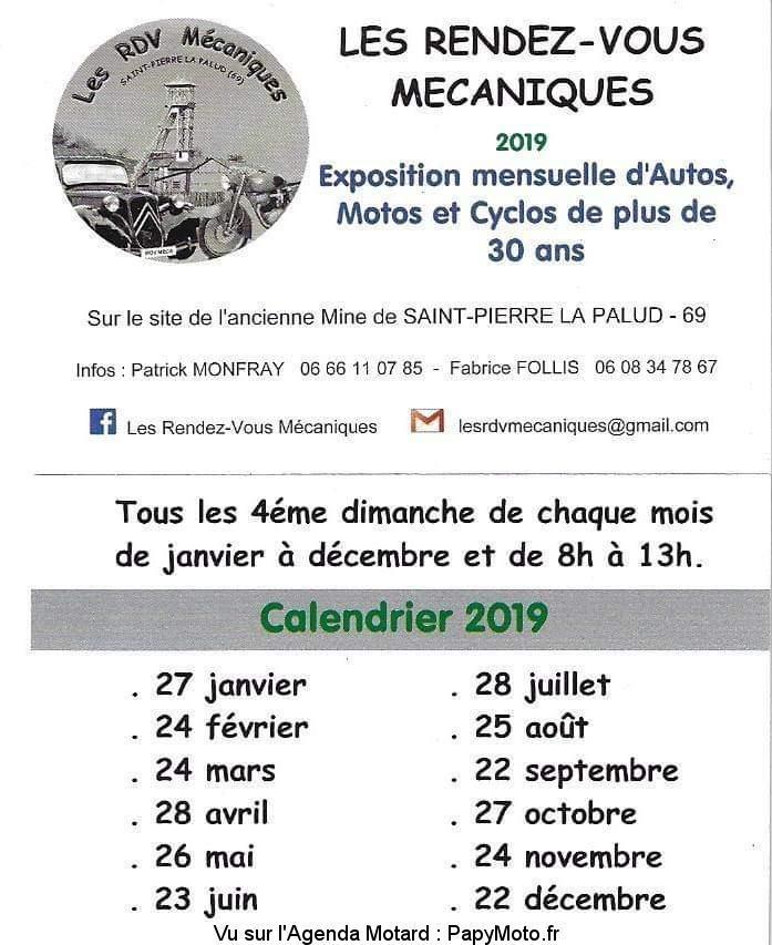 MANIFESTATION - Rendez-Vous Mécaniques - 28 Juillet 2019  - Saint-Pierre La Palud(69) Les-re17