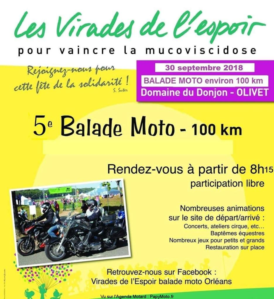 Balade Moto - 30 Septembre 2018 - Domaine du Donjon - Olivet Les-vi14