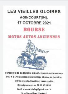MANIFESTATION - Les Vieilles Gloires - Bourse Moto Anciennes - 17 Octobre 2021 - Agincourt (54) Les-vi16