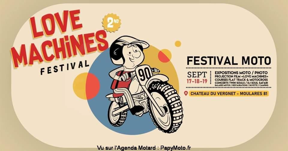 MANIFESTATION - Festival Moto - 17 - 18 - & 19 Septembre 2021 - Moulares (81) Love-m10