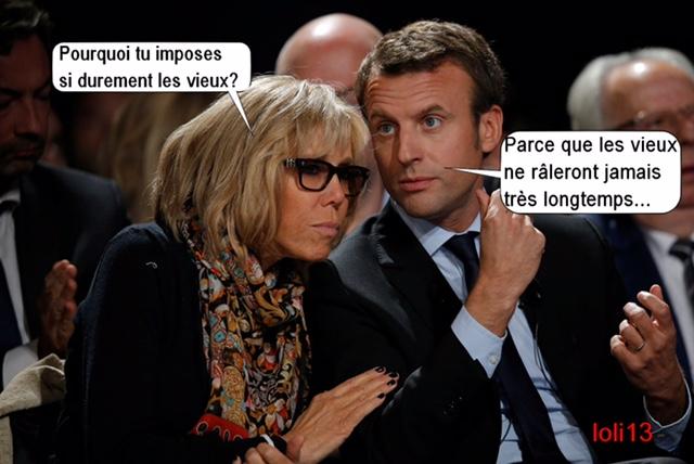 HUMOUR - Savoir écouter et comprendre... - Page 4 Macron11