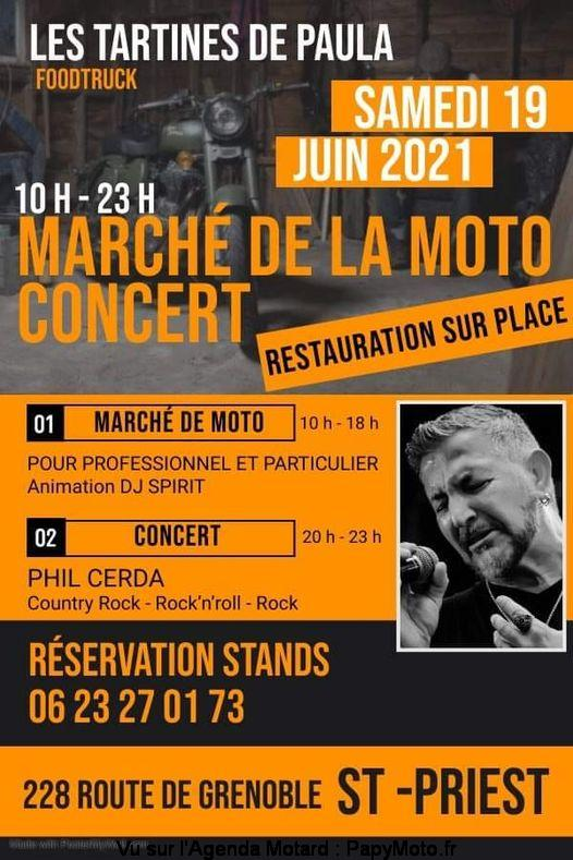 MANIFESTATION - Marché de la Moto Samedi 19 Juin 2021  Marche10