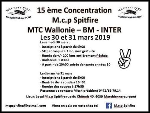 Concentration - 30 & 31 Mars 2019 - Marchienne - Au - Pont (6030) BELGIQUE  Marchi11