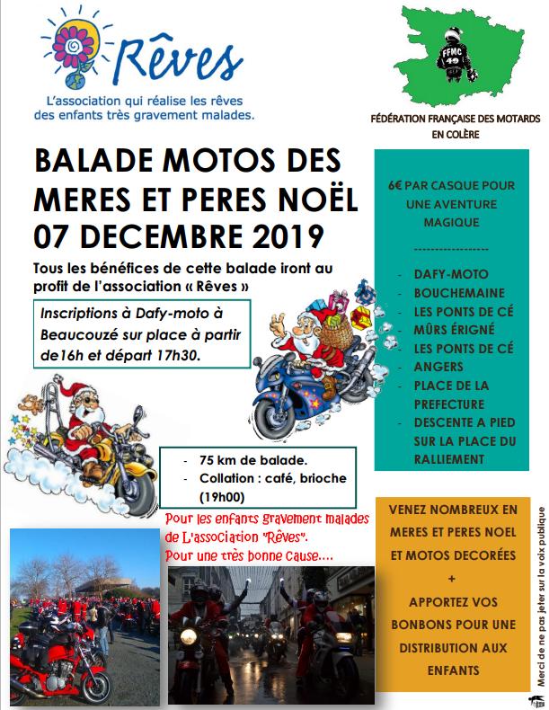 MANIFESTATION - Balade Motos - 7 Décembre 2019 - Beaucouzé ( 49070) Meresp10