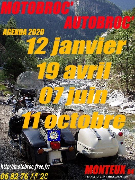 MANIFESTATION - Motobroc'Autobroc' - 19 Avril 2020 - Monteux (84) Motobr12