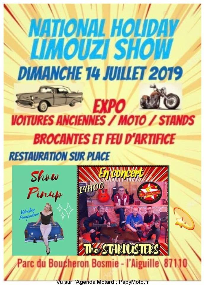 MANIFESTATION - Expo - Dimanche 14 Juillet 2019 - L'Aiguille (87110) Nation11