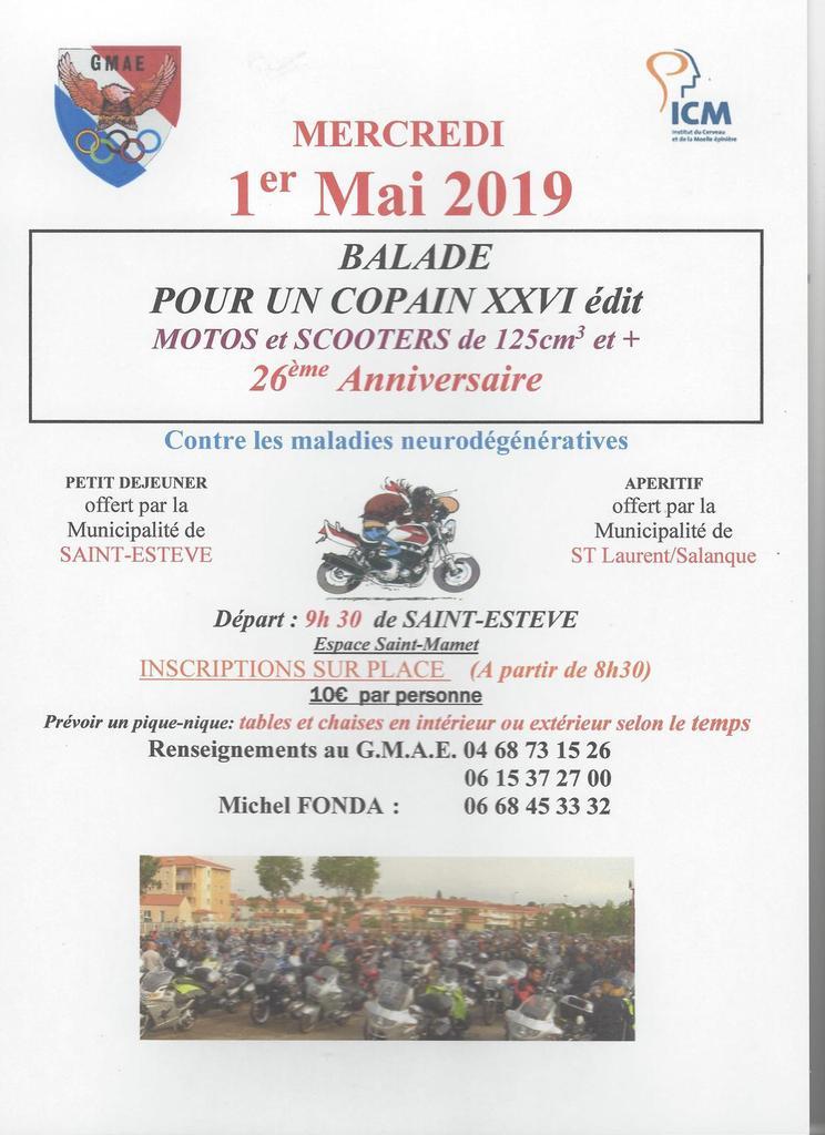 Balade  - Mercredi 1er Mai 2019  - SAINT - ESTEVE   Ob_fb210