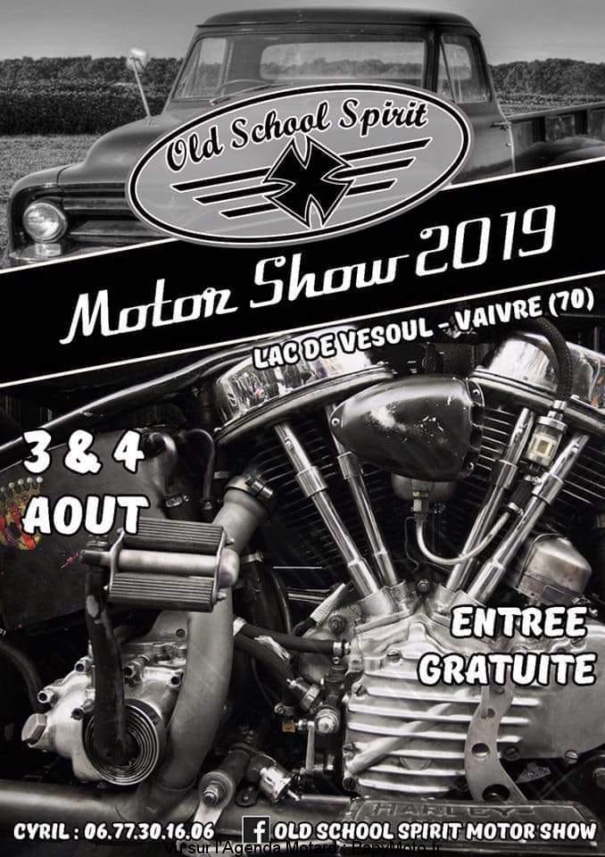 MANIFESTATION - Motor Show 2019 -  3 & 4 AOUT 2019 - Vaivre (70) Old-sc12