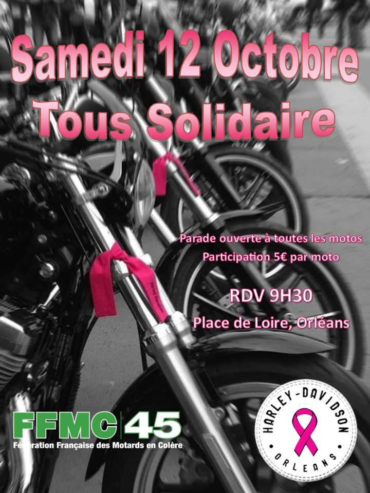 MANIFESTATION - Tous Solidaire - Samedi 12 Octobre 2019 - Place de Loire - ORLEANS Parade10