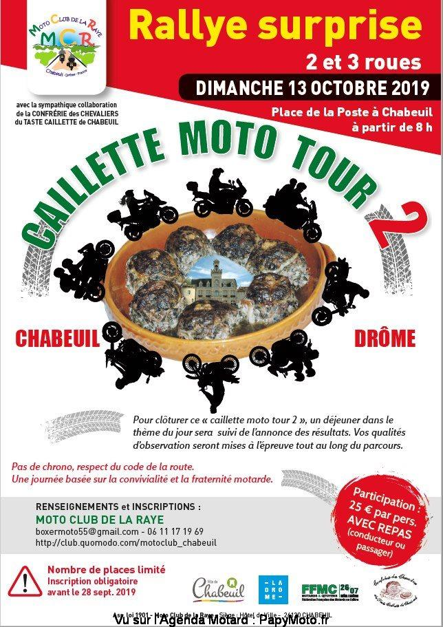 MANIFESTATION - Rallye Surprise - 13 Octobre 2019 - Chabeuil Rallye10