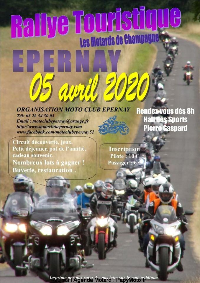 MANIFESTATION - Rallye Touristique - 5 Avril 2020 - Epernay  Rallye11
