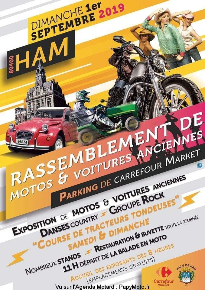 MANIFESTATION - Rassemblement - Dimanche 1er Septembre 2019 - HAM (80400) Rassem42