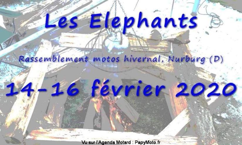 MANIFESTATION - Rassemblement Motos Hivernal - 14 au 16 Février 2020 - NURBURG (D) Allemagne  Rassem54