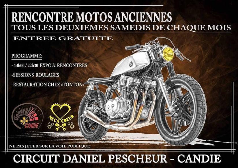 MANIFESTATION - Rencontre Motos Anciennes - 2eme Samedi de chaque mois - Candie  Rencon11