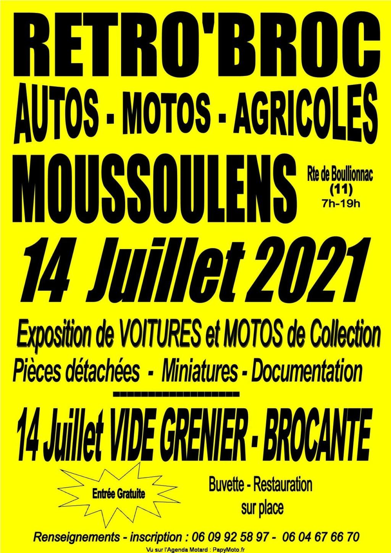 MANIFESTATION - Retro'Broc - 14 Juillet 2021 Moussoulens - Rte de Boullionnac (11) Retrob10