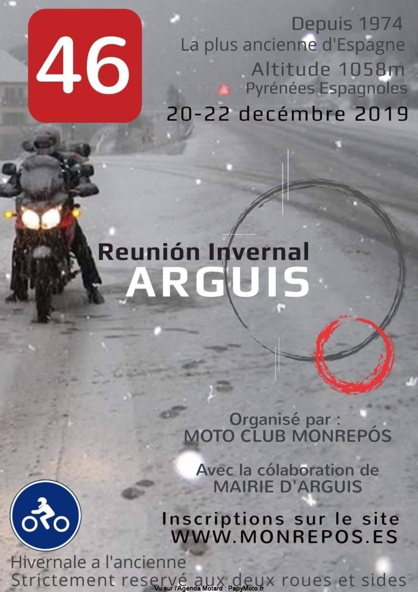 MANIFESTATION - Réunion Hivernale - 20 au 22 Décembre 2019 - Arguis  Reunio11