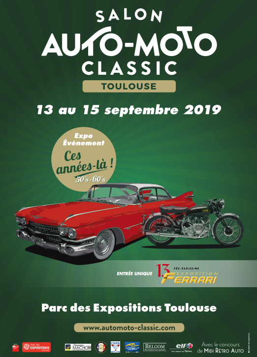 MANIFESTATION - Salon Auto -Moto - 13 au 15 Septembre 2019 - Toulouse  Salon-10