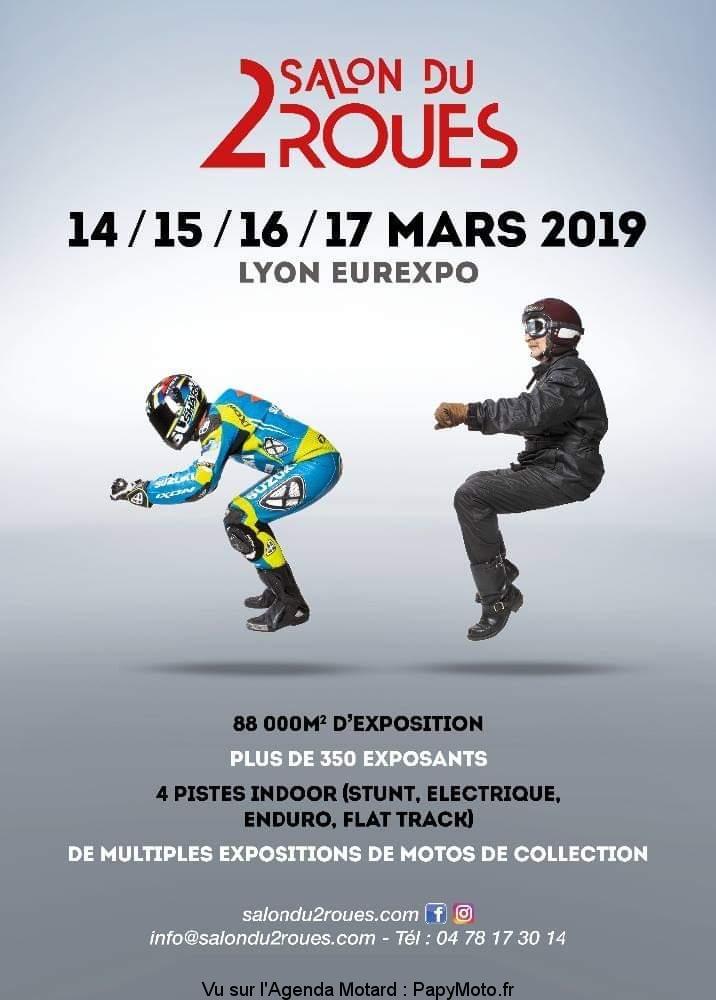 Salon du deux Roues - 14 - 15 - 16 - 17  Mars 2019  Lyon Eurexpo Salon-14