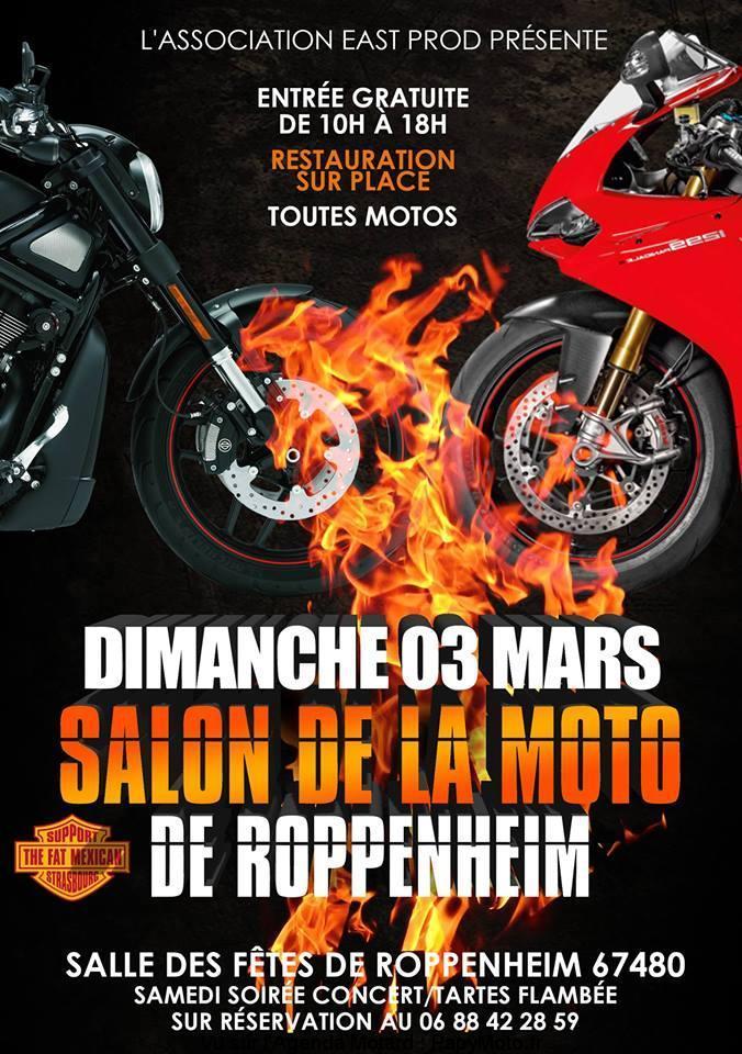 Salon de la Moto - Dimanche 3 Mars 2019 - ROPPENHEIM (67480) Salon-16