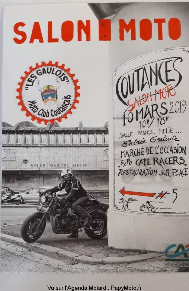 Salon de la moto - 10 Mars 2019 - Coutances -  Salon-17