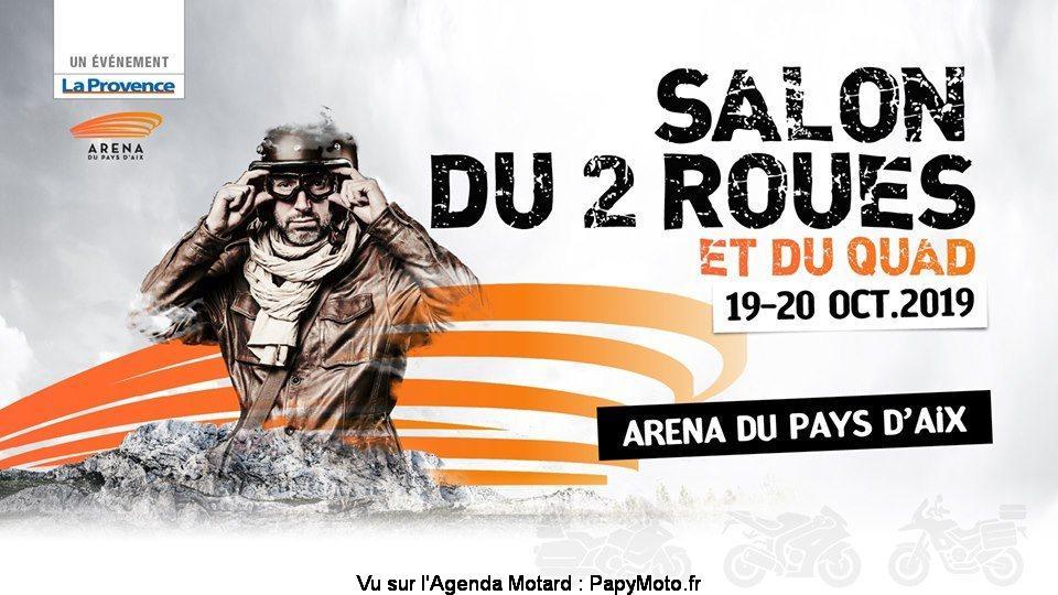 MANIFESTATION - Salon du 2 Roues - 19 & 20 Octobre 2019 - ARENA DU PAYS D'AIX Salon-25