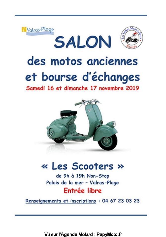 MANIFESTATION - Salon Motos Anciennes & Bourse - 16 & 17 Novembre 2019 - Valras-Plage (34) Salon-26