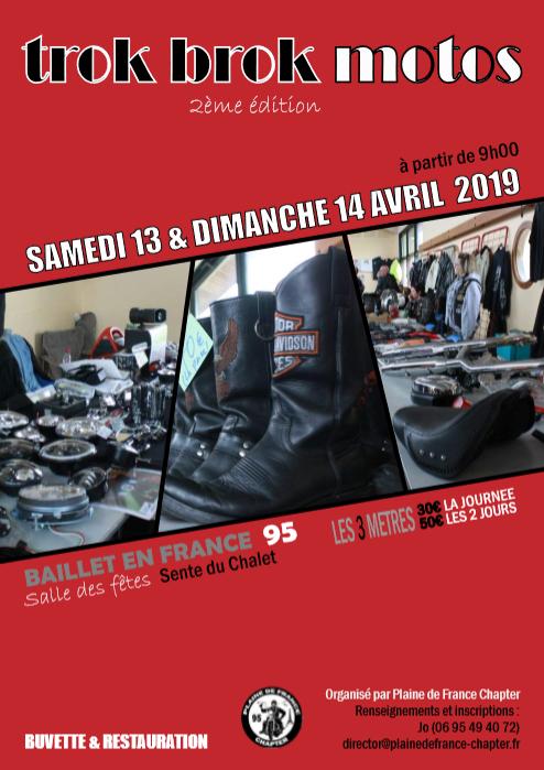 Trok Brok Motos - Samedi 13 & Dimanche 14 Avril 2019 - BAILLET -EN -FRANCE - (95560) Sans-t10