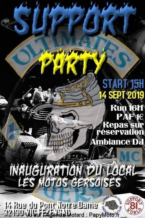 MANIFESTATION -  Support Party- 14 Septembre 2019 - Vic Fezensac - (32190) Suppor29