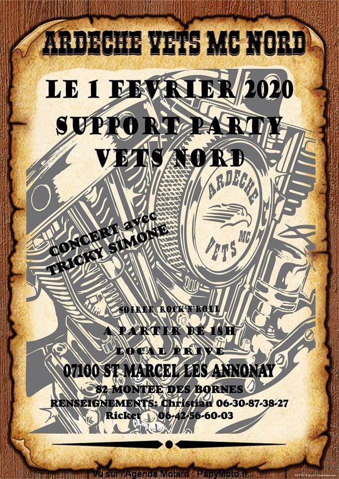 MANIFESTATION - Support Party - 1er Février 2020 - St Marcel Les Annonay (07100) Suppor32