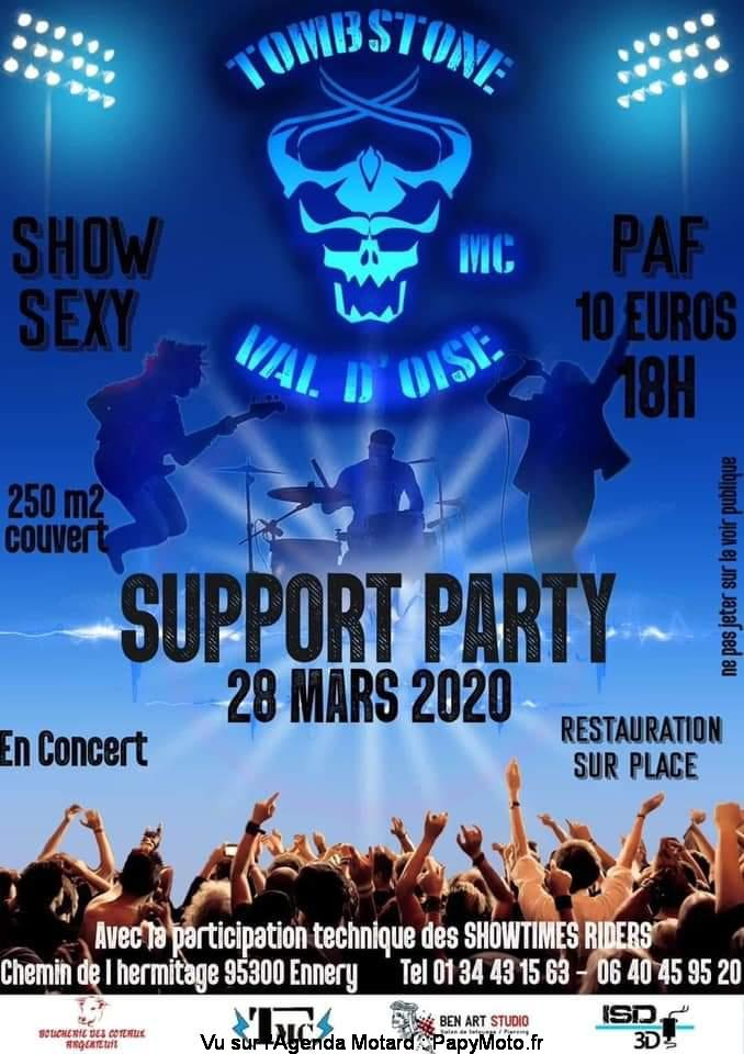 MANIFESTATION - Support Party - 28 Mars 2020 - Ennery (95300) Suppor35