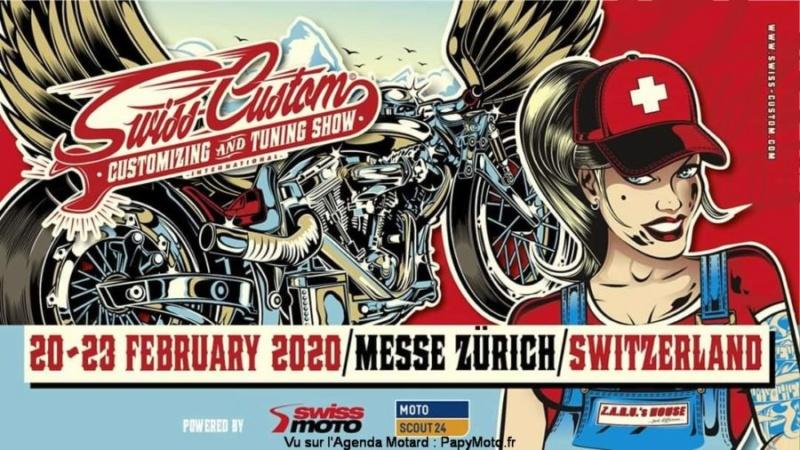 MANIFESTATION - Swiss - Custom - 20 - 23 Février 2020 - Messe Zurich - Switzerland  Swiss-10