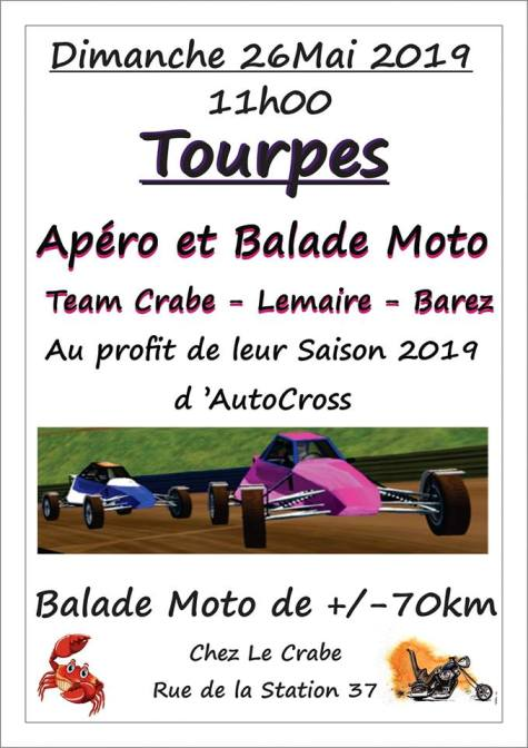 MANIFESTATION - Balade - Dimanche 26 Mai - TOURPES  - ( Belgique ) Tourpe11
