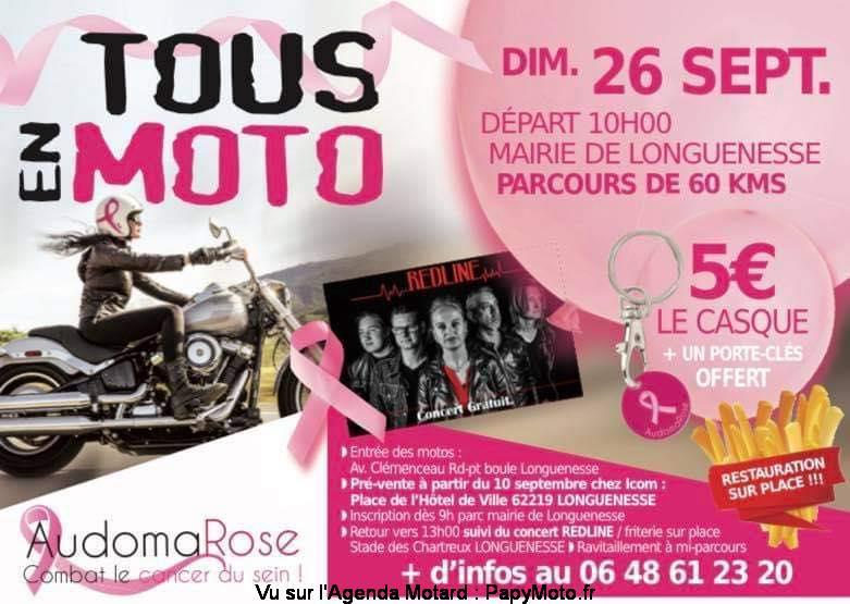 MANIFESTATION - Tous en Moto - Dimanche 26 Septembre 2021 - Longuenesse (62) Tous-e11