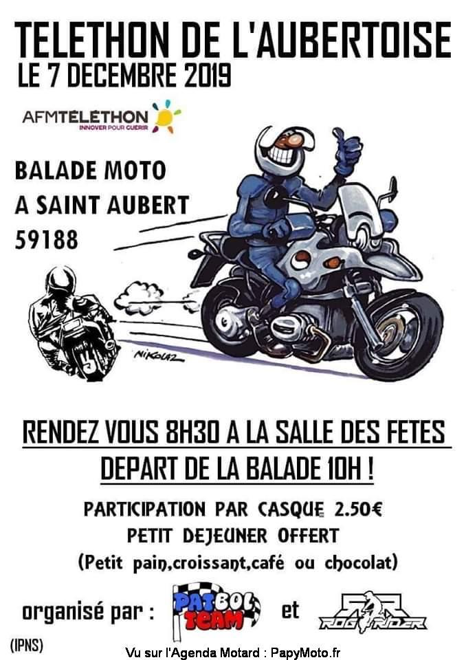 MANIFESTATION -  Téléthon de L'Aubertoise - 7 Décembre 2019 - Saint Aubert (59188) Tzolzo26
