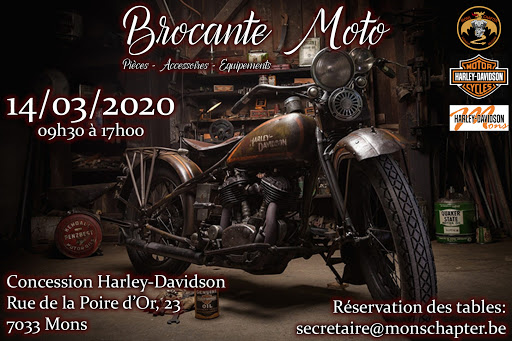 MANIFESTATION - Brocante Moto - 14 Mars 2020 - Mons (7033 Belgique ) Unname18