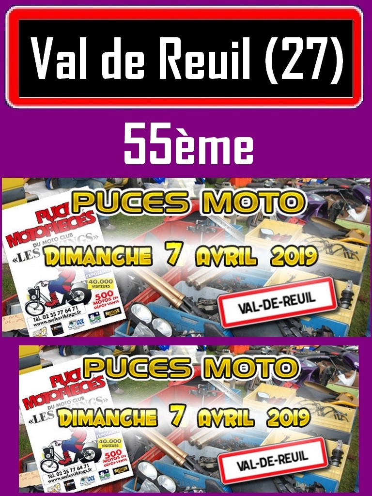 Puces Motos - Dimanche 7 Avril 2019  - Val de Reuil (27) Val-de10