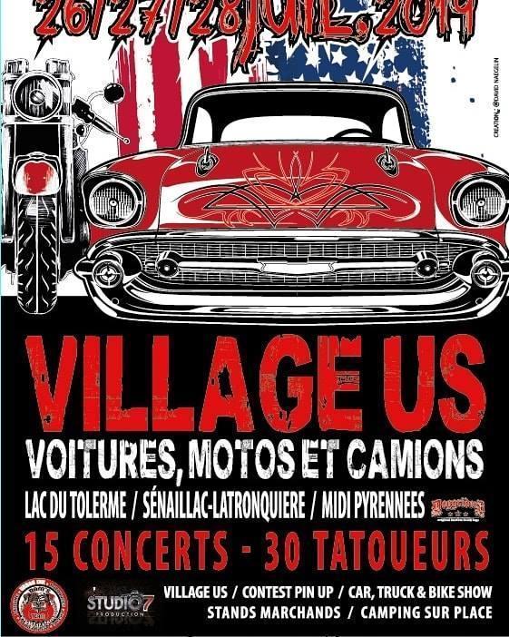 MANIFESTATION - Village US - 26-27-&28 Juillet 2019 - Lac du Tolerme / Sénaillac- Latronquiere/  Villag11