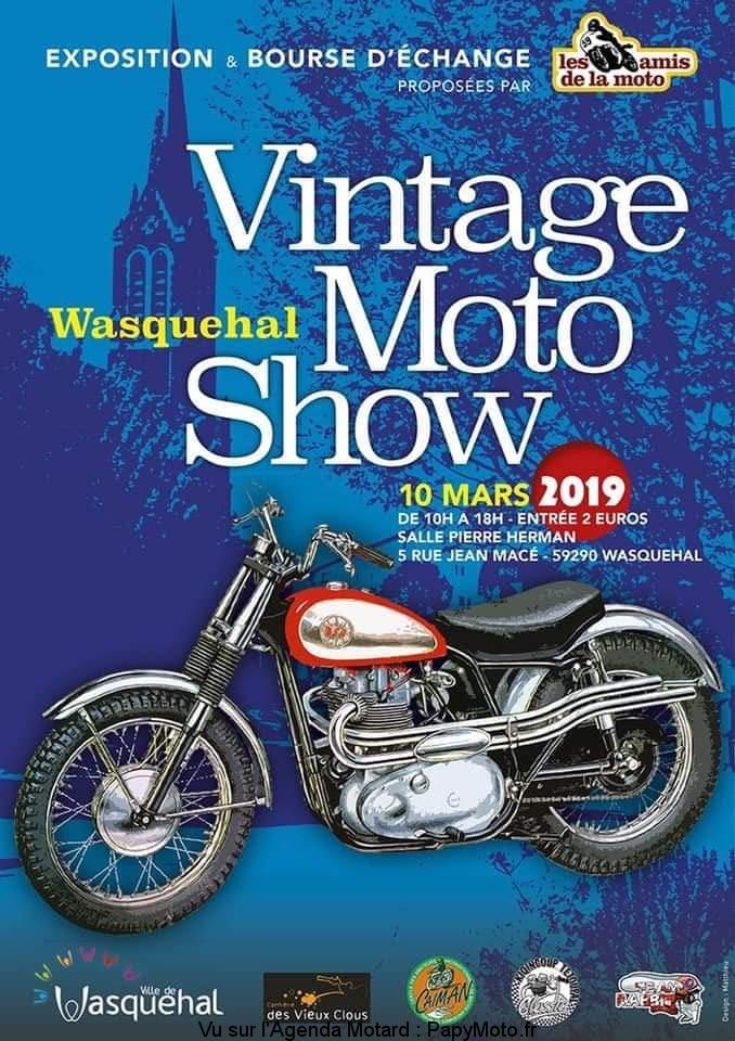 Expo & Bourse - 10 Mars 2019 -  WASQUEHAL (59290) Vintag11