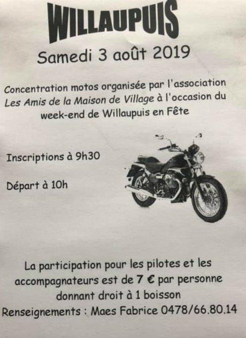 MANIFESTATION - Concentration - Samedi 3 AOUT 2019 - Willaupuis ( Belgique )  Willau10