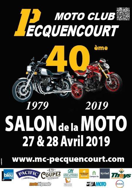 Rappel - 40 ème Salon de la Moto - 27 & 28 Avril 2019 - Pecquencourt  Www_mc13