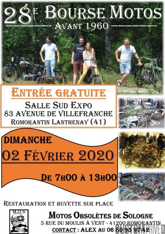 MANIFESTATION  - Bourse Motos - 2 Février 2020 - Romorantin Lanthenay (41) Zoom_211